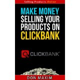 Make money selling your products on Clickbank